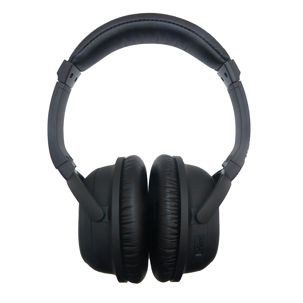 BH519 Bluetooth 4.0 Wireless Headset High Fidelity Stereo Headphone Over-ear Type ANC Multifunctional Active Noise Reduction redragon h991 triton active noise canceling gaming headset 7 1 channel surround stereo anc over ear headphone with mircophone