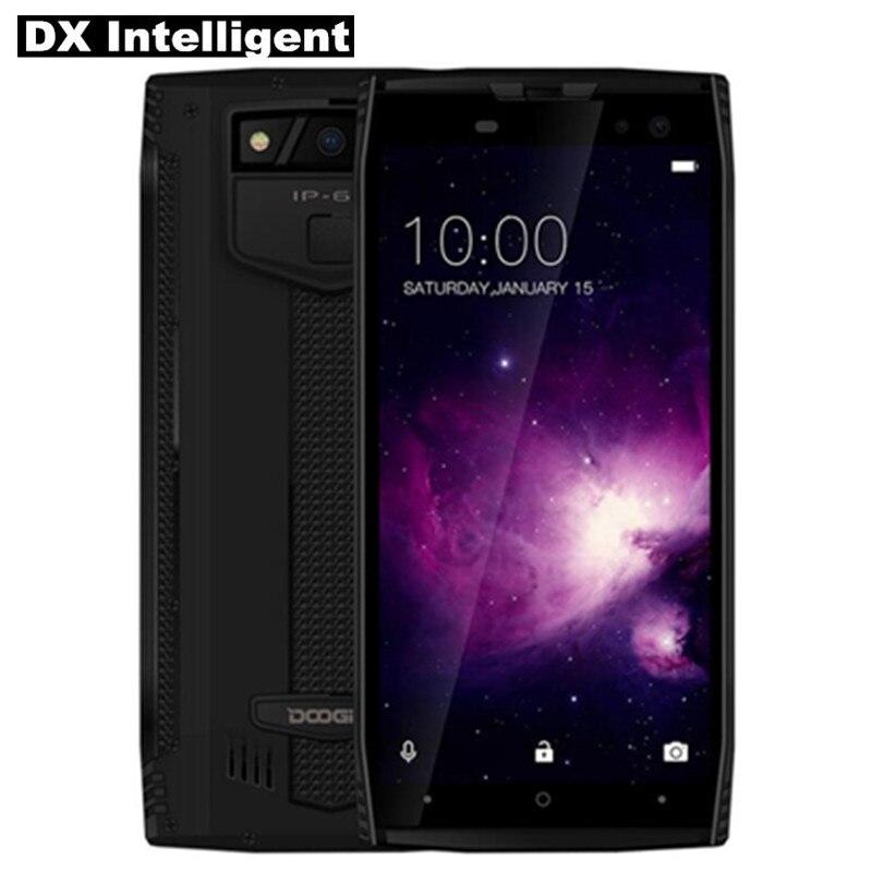 DOOGEE S50 6 gb + 128 gb MTK6763T Octa Core IP68 Étanche 5.7 18:9 HD Android 7.1 16MP 4 caméra Face D'empreintes Digitales ID SmartPhone