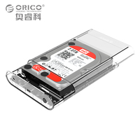 Orico 3 5 Inch Transparent Type C HDD Enclosure Case USB 3 0 5Gbps Sata 3