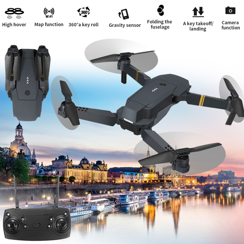 Original UAV Aircraft Quadcopter Drone 360degree Rolling WiFi FPV Real-Time LED Lighting HD Camera 6 Axis Gyro ABS 1pcs crystal bowknot hair clips for girls rhinestone decorattion hairpins styling tools barrette braiding accessories hair pins