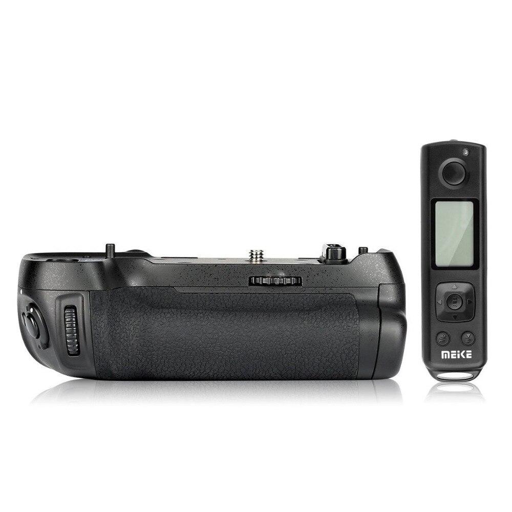 Meike MK-D850 pro tiro vertical pacote de energia aperto da bateria com 2.4g controle remoto sem fio para nikon d850 câmera