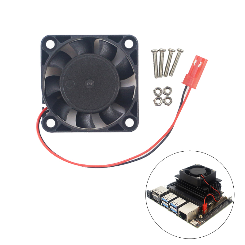 For NVIDIA Jetson Nano Developer Kit Cooling Fan Quiet CPU Fan Cooler For NVIDIA Jetson Nano Developer Kit