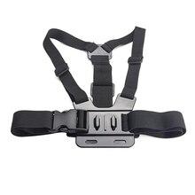 For Action Camera GoPro Hero 4 3 3+ 2 sj4000 sjcam Accessories Adjustable Elastic Holder Chest Belt