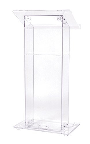 Acrylic Lectern Podium with Shelf Clear Perspex Church Lectern Church Lucite Acrylic Podium Church Lectern plexiglass pulpit clear acrylic podium pulpit lectern plexiglass lecten