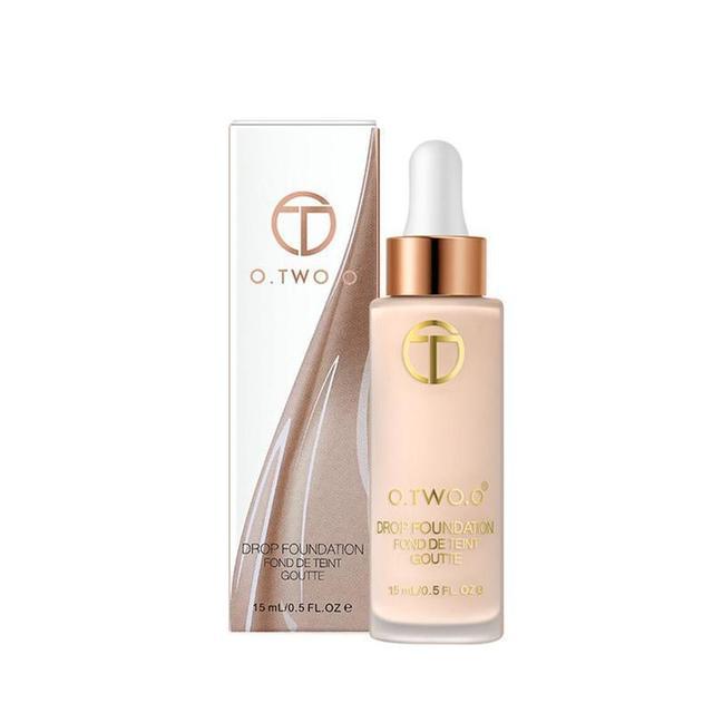 O. Dos. O impermeable cara líquida base Contorno de larga duración blanqueamiento maquillaje líquido corrector pigmento de base