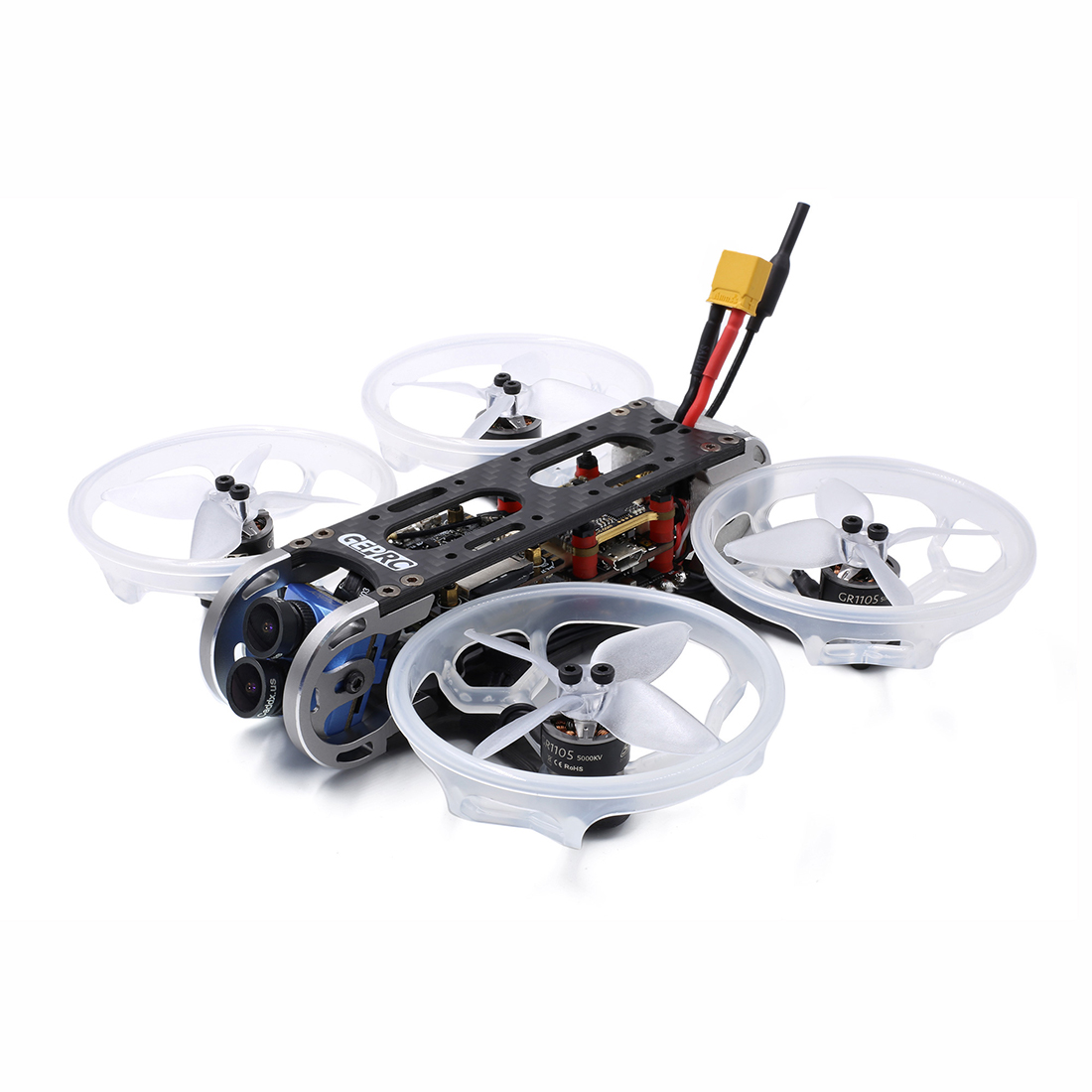 Image 4 - GEPRC CinePro 4K BNF/PNP FPV Racing Drone 4S Compatiable with F722/F405 Flight Controller 115mm 5.8g 48CH 500mW VTX-in Parts & Accessories from Toys & Hobbies