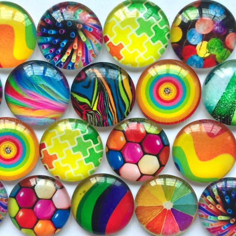 ZEROUP 30-35mm rodada de vidro cabochão fotos padrão misto fit cameo base  de dados de configuração para o apartamento de volta jóias 10 pçs lote  TP-178-R 759ea487fd95b