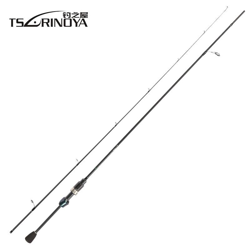 TSURINOYA Dexterity Spinning Fishing Rod 1.89m UL Tip Fast Action Carbon Fiber Portable Bass Carp Trout Spinning Rod Pole|Fishing Rods| |  - title=