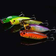 Fishing Popper Lure Hard Bait 16g 10.5cm Japan Series Topwater Artificial Lures 5 Pieces Free Shipping