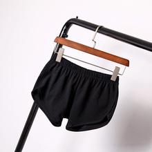 New Street Summer Fashion Women Elastic Waist Elastic Short Women s Shorts Girls Casual Loose Solid