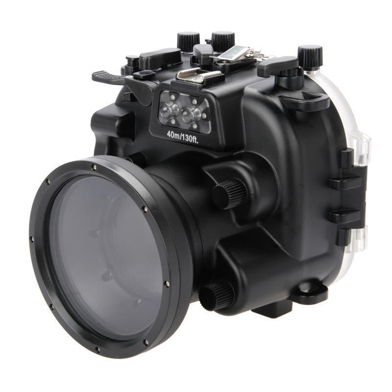 Meikon 40 м/130ft Подводный корпус камеры чехол для Fujifilm X T1 XT1 с 18 55 мм объектив Камера, водонепроницаемый Камера сумка