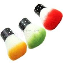 1 шт ногтевая Кисть для геля дизайн ногтей пылеочиститель профессиональный инструмент