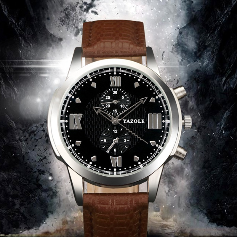 popular famous mens watches buy cheap famous mens watches lots yazole 384 top brand luxury men quartz watch famous mens watches clock male wrist watch for