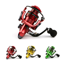 All metal arm 13+1BB spinning fishing reel EVA Handle fishing reels 3 colors 1000 7000 series Gapless metal head spinning wheel