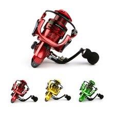 Całkowicie metalowe ramię 13 + 1BB spinning fishing reel uchwyt eva kołowrotki wędkarskie 3 kolory 1000 7000 seria Gapless metal head spinning wheel