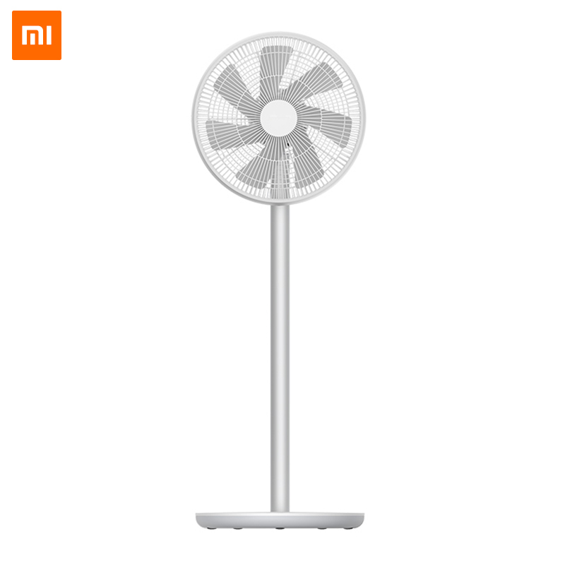 New 2019 Xiaomi Mi Smartmi Natural Wind Pedestal Fan 2 2S with MIJIA APP Control DC Frequency Fan 20W2800mAh 100 Stepless Speed(China)