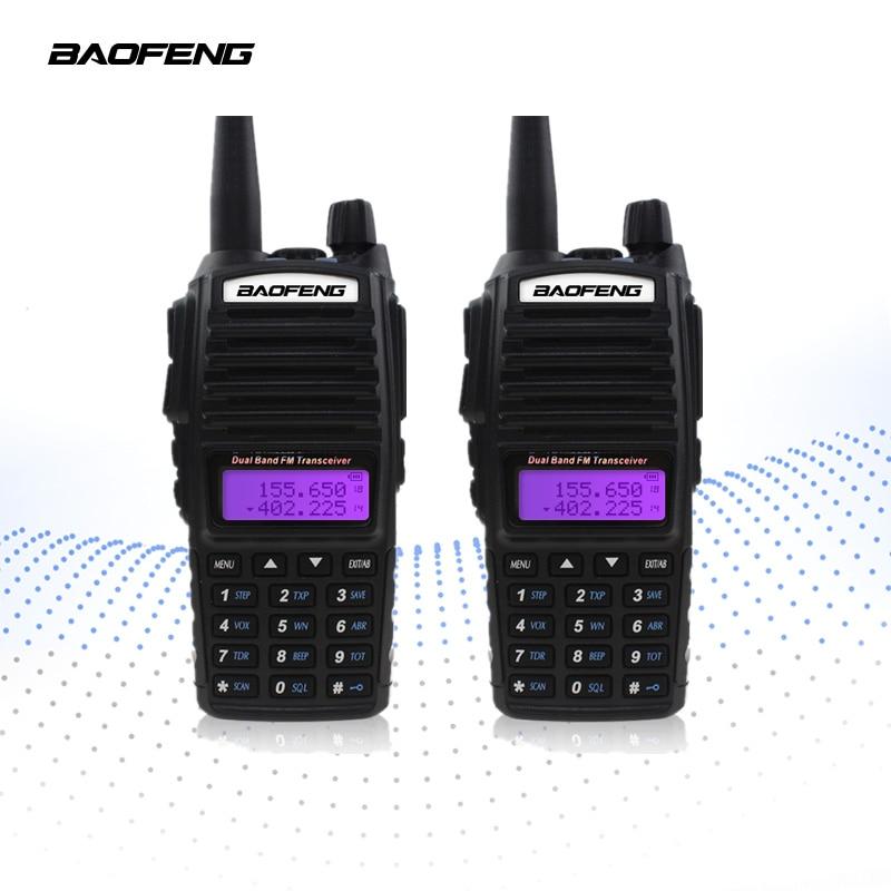 【Final クリア out】2 個 BAOFENG UV 82 トランシーバー 5 ワット VHF UHF ハンドヘルド Cb ラジオ FM デュアル PTT ハムアマチュア双方向ラジオ UV82  グループ上の 携帯電話 & 電気通信 からの トランシーバー の中 1