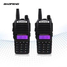 【Final クリア out】2 個 BAOFENG UV 82 トランシーバー 5 ワット VHF UHF ハンドヘルド Cb ラジオ FM デュアル PTT ハムアマチュア双方向ラジオ UV82