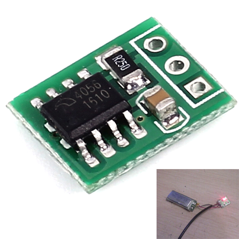 Mini 5V 1A 18650 Lithium Battery Charging Module Li ion Charger Board for Airplane Remote Control