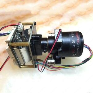 "Image 4 - IP كاميرا 4MP 2.8 12 مللي متر بمحركات التكبير والسيارات عدسة البؤري 1/3 ""CMOS OV4689 + Hi3516D CCTV IPC وحدة المجلس مع كابل شبكة محلية"