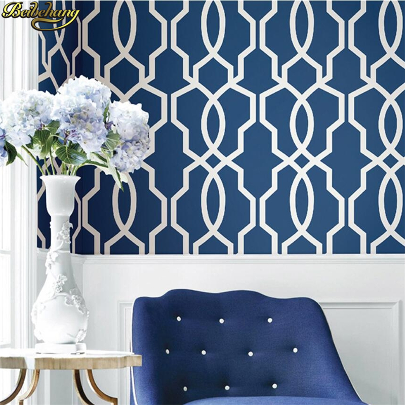 beibehang papel de parede 3D wallpaper for walls 3 d Geometric lines wall paper roll wallcovering