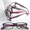 Atacado 9603 injeção plástica rim completa leve moda única visão, Retângulo óptico de óculos quadros