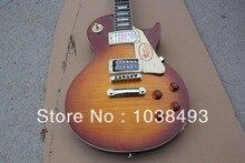 Großhandel Custom shop 1959 R9 Tiger Flamme elektrische gitarre Ems-freies Verschiffen mit hard case