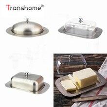 Transhome столовые приборы для сыра из нержавеющей стали сырный лотки прозрачные Сырные доски полезный контейнер для хранения сыра лоток для хранения