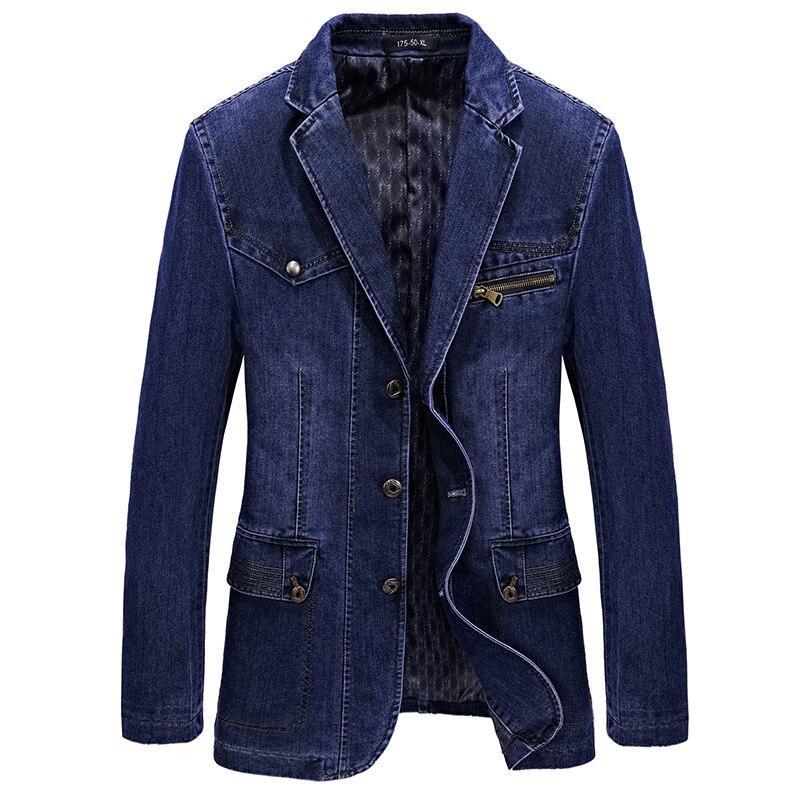 M-4XL мужские куртки и пальто брендовая одежда джинсовая куртка Модные мужские джинсы куртка весенняя и осенняя верхняя одежда мужской ковбо...
