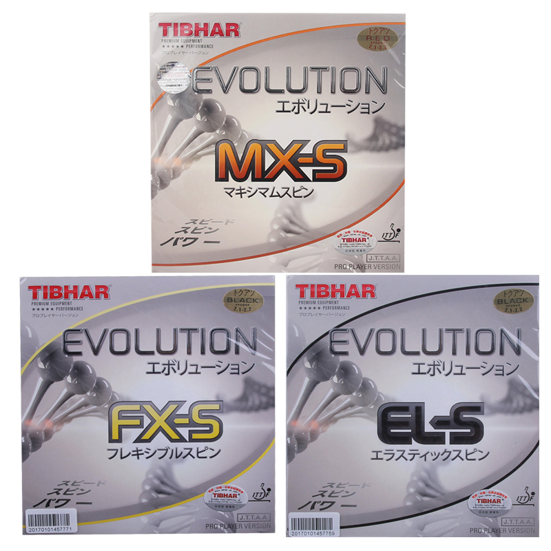 TIBHAR EVOLUTION EL S MX S FX S Germany Table Tennis Rubber Pips in Ping Pong