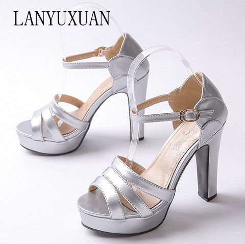 2017 Limited New Sandals Women Big and Small Size 31- 43 Sandals Ladies Wedding Party Dance Shoes High Heel Women Pumps 8-5 new mf8 eitan s star icosaix radiolarian puzzle magic cube black and primary limited edition very challenging welcome to buy