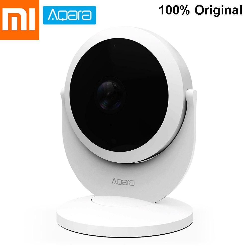 D'origine Xiaomi Aqara Smart Security IP Passerelle Cam Moniteur 1080 p 180-Degré Intelligente Commune Alarme ZigBee Connecter Mijia mihome