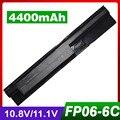 4400 mah batería del ordenador portátil para hp probook 450 470 440 g0 455 g1 707616-242 fp06 h6l26aa h6l26ut