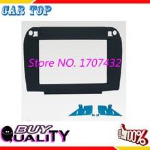 Хорошее качество 2DIN DVD audio universal front surround панельно-каркасные панель для BENZ C215 CL класс, S-klasse W220 (Черный)