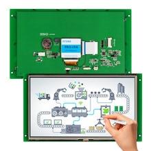HMI control panel for storage system
