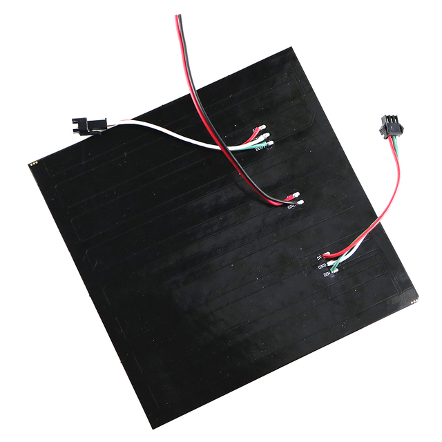 Panneau de LED Flexible numérique, matrice 16*16 Pixels