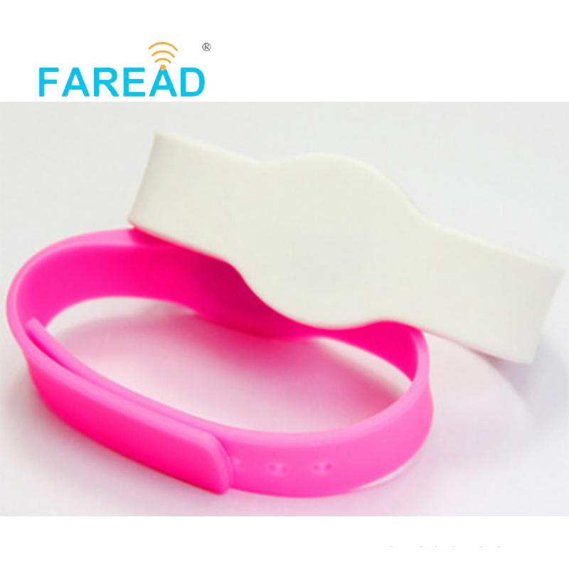 Free Shipping 125khz EM4100  RFID Wristband  For Swimming Pool, Cooling Store, Sauna Bath Center, Supermarket