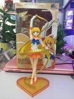 Sailor Moon PVC Action Figure Bandai Zero Sailor Venus Collectible Model Toy Sailor Moon Minako Aino Doll 16CM