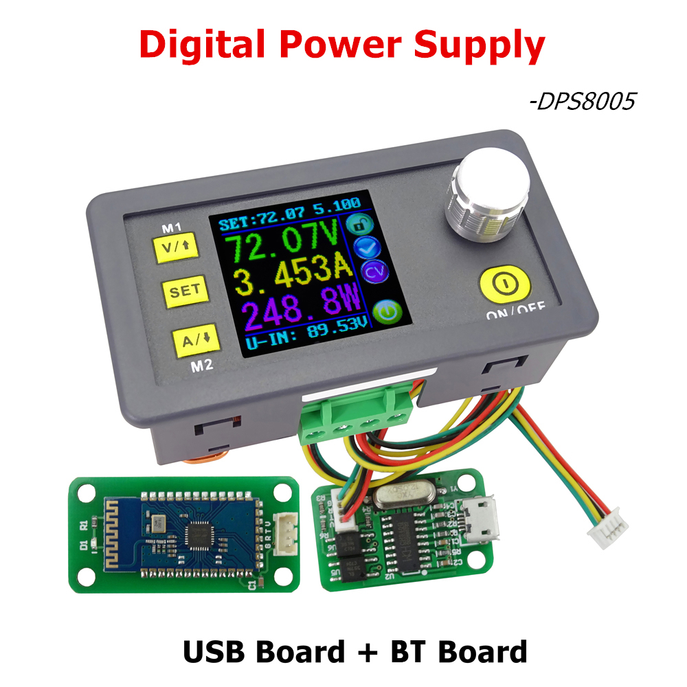 RD programmable constant voltage current Step-down power supply module Voltmeter Ammeter buck converter 80V 5A DPS8005 купить в Москве 2019
