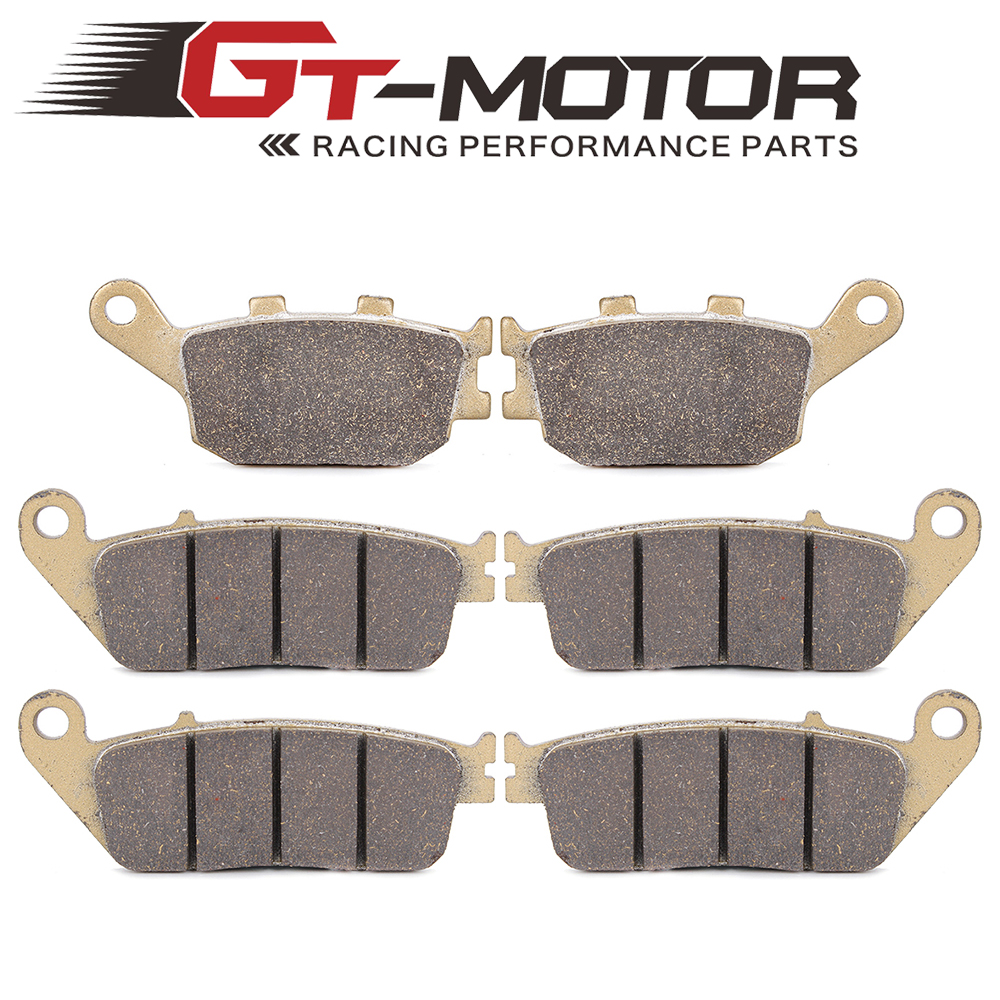 Motorcycle Front and Rear Brake Pads For HONDA CB600F Hornet 1998-2006 motoo motorcycle front and rear brake pads for honda cb600f hornet 1998 2006
