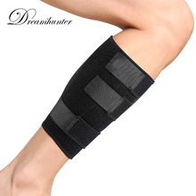 Pro Bandage Strap Wrap Calf Protectors Football Extreme Sports Fitness Training Leg Sleeves Soccer Protective Pad(China)