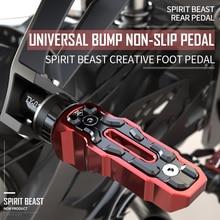 Spirit Beastรถจักรยานยนต์เท้าวางด้านหลังเหยียบรถจักรยานยนต์สำหรับHonda Benelli Yamaha Hayabusa Bmw Triumph Harley Kawasaki