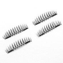 Beauty Health - Makeup - Genailish 6D Magnetic Eyelashes Double Magnet Eyelashes Makeup Extension Eyelash Magnetic False Eyelashes CT03-S