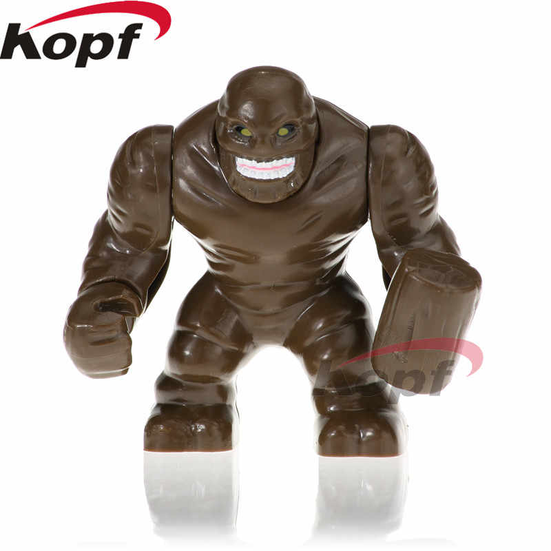 Один продажи Супер Герои Халк Джаггернаут Venom носорог ящерица мужчина Скорпион анти-яд строительные блоки подарок игрушки для детей PG1802