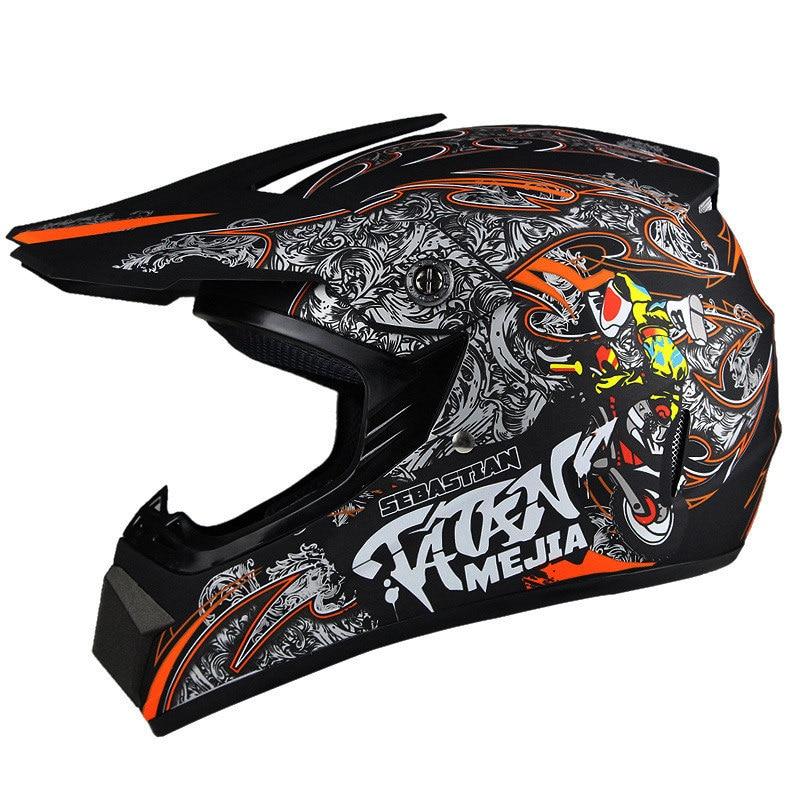 Dirt Bike Gears : Dot approved motorcycle motocross dirt bike atv helmet off