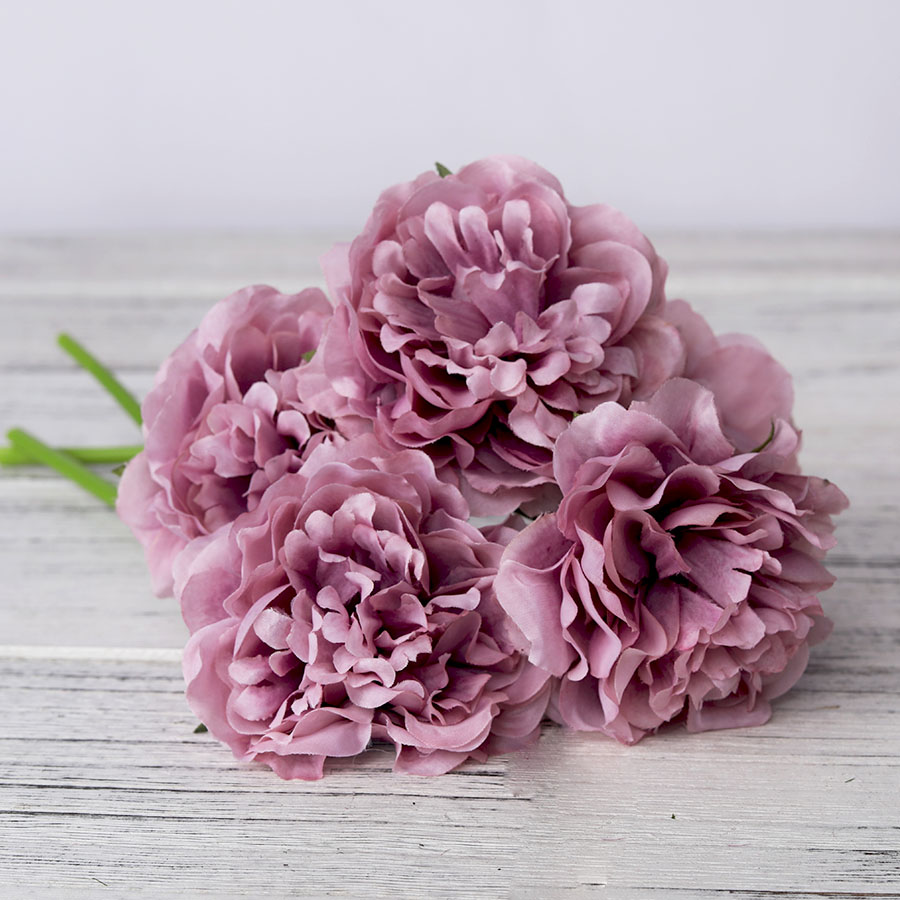 1 Bouquet 5 Heads High Quality Artificial Flower for Home/Wedding Party/Valentines day Decor 3