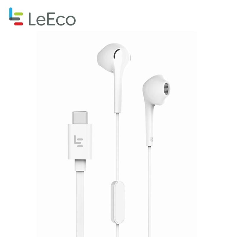 Letv LeEco CDLA Earphone Type-C Plug HiFi Chip inbedded Continual Digital Lossless Audio Gold Galved Half-in-ear mi 6 Original