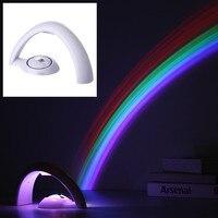 Lucky Rainbow Projector Light Rainbow Night Lamp Amazing Rainbow Light Tow Modes Good Quality
