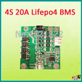 4S 20A lifepo4 BMS PCM  lifepo4 battery protection board bms pcm  with balancing for  lifepo4 battery pack
