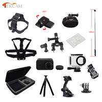 Tekcam For Xiaomi Mijia Action Camera Accessories 45m Waterproof Case Silicone Case Mount For Xiaomi Mijia